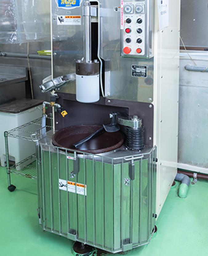 クランク式餅つき機