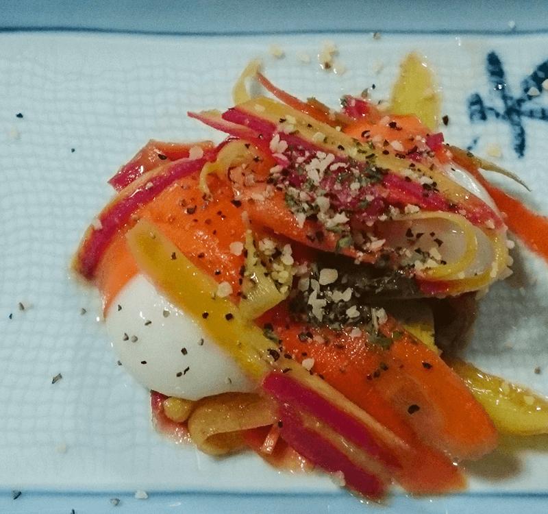 餅 レシピ 人気 一関 サラダ 夏 もちのまち 餅の町 大林製菓 餅文化 人参 サラダ