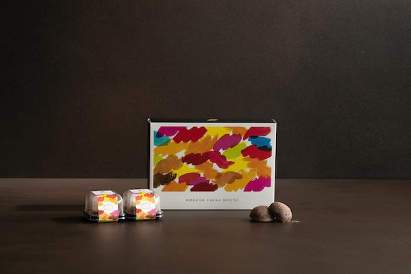 アマゾンカカオ餅 amazon cacao mochi 餅 レシピ 大林製菓